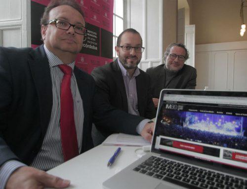 Presentación de la nueva web del IMAE y del 30 aniversario del Gran Teatro