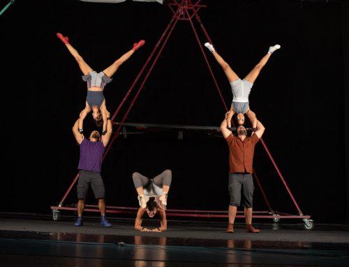 Ahá! Circo, un espectáculo familiar en el que destacan las acrobacias aéreas llega el sábado al Gran Teatro