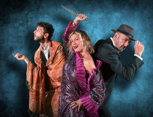 Marisol Membrillo y Juan Carlos Villanueva protagonizan en el Góngora el estreno de Muerto en el acto, una comedia made in Córdoba