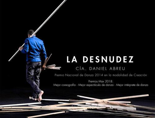 La Cía. Daniel Abreu presenta en el Teatro Góngora La Desnudez, un exquisito y premiado montaje de danza contemporánea
